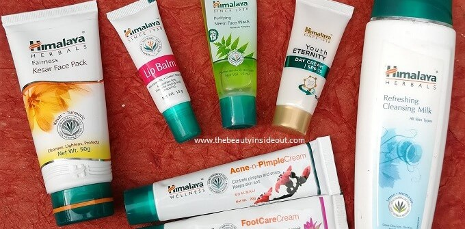 Himalaya Products Review