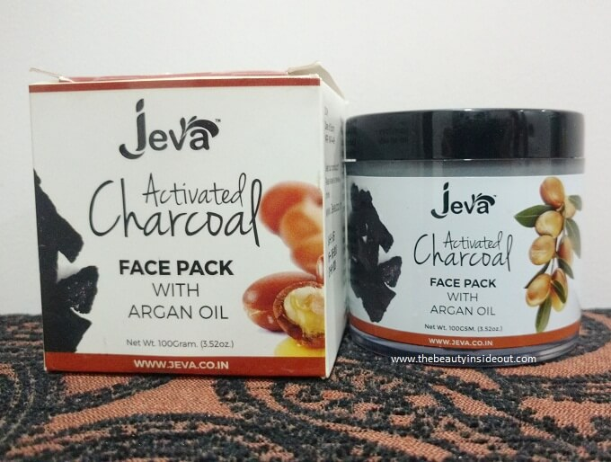 Jeva Activated Charcoal Face Pack