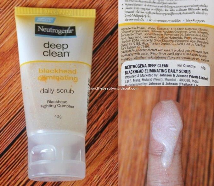 Neutrogena Deep Clean Blackhead Eliminating Scrub