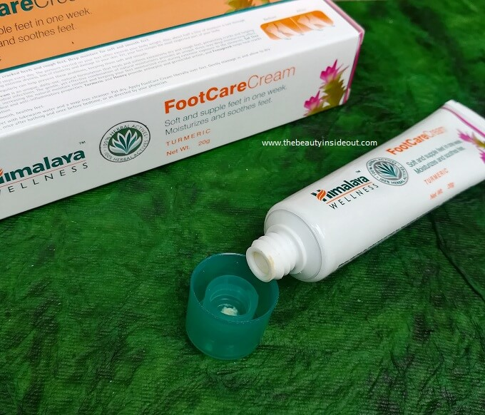 Himalaya Foot Care Cream Packaging