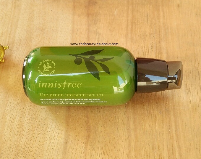 Innisfree Green Tea Seed Serum Bottle