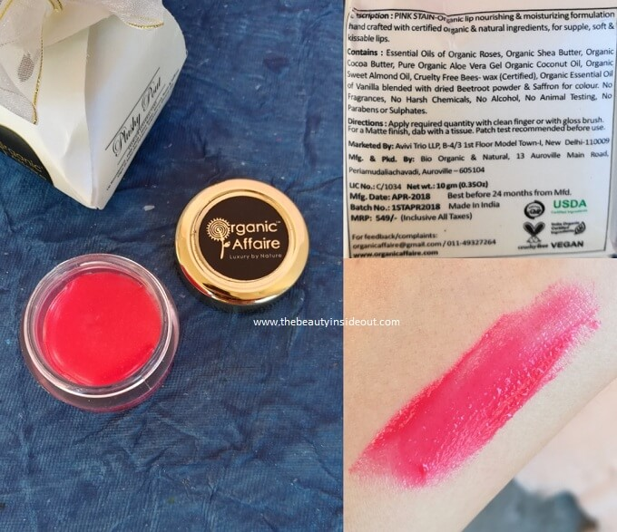Organic Affaire Plushy Pout Lip Butter