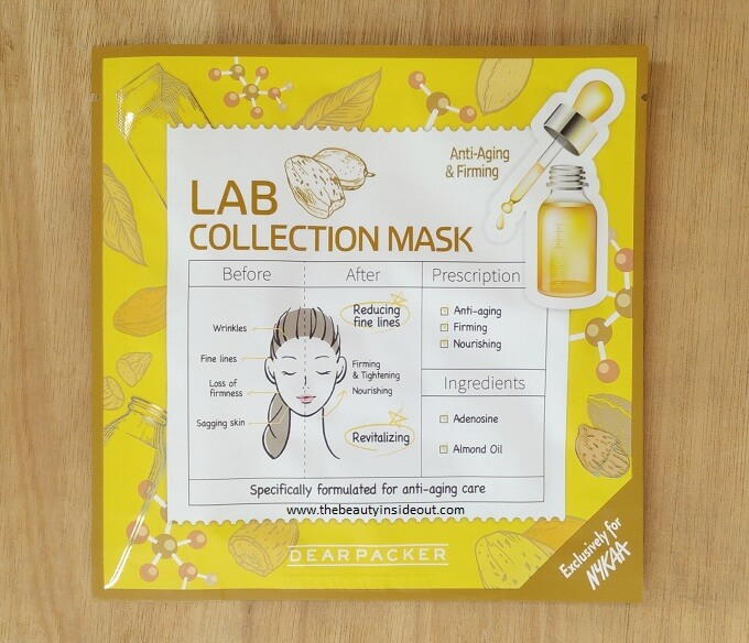 Dear Packer Lab Collection Mask Anti Aging & Firming