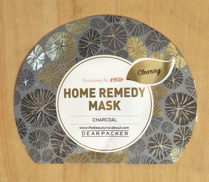 Dear Packer Home Remedy Sheet Mask - Charcoal