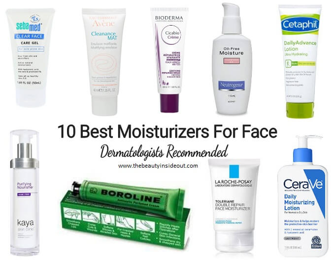 Best Moisturizers For Face Recommended By Dermatologists