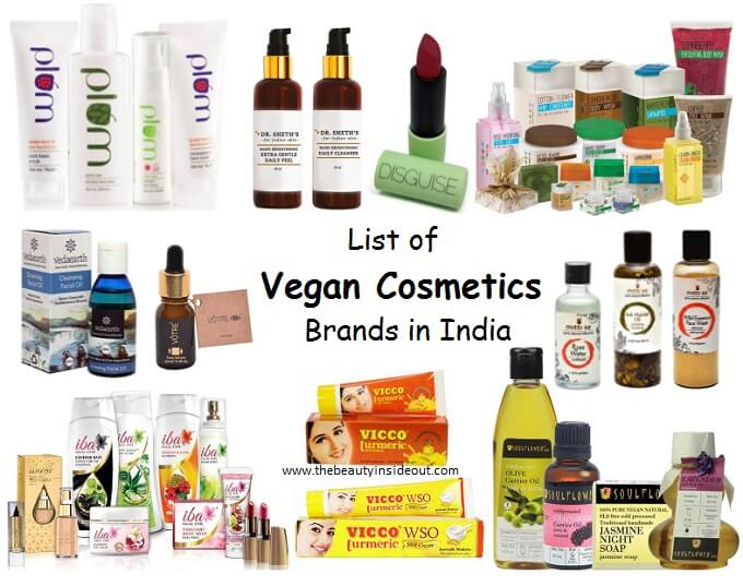 Cruelty Free and Vegan Cosmetics Brands List