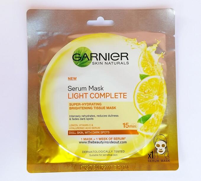 Garnier Sheet Masks - Light Complete
