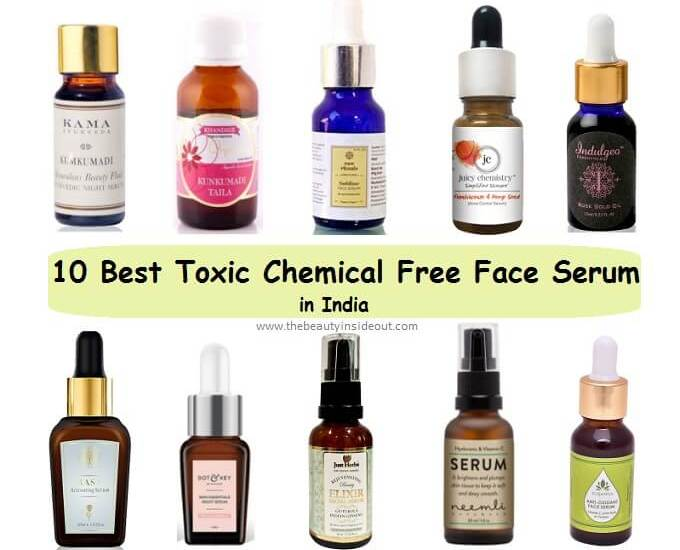 Best Chemical Free Face Serums in India