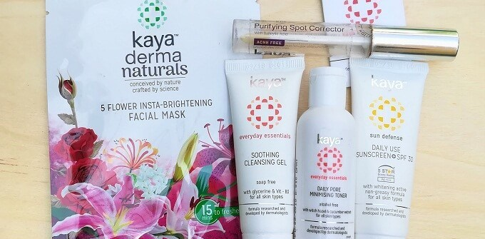 Kaya Skin Clinic Products Review
