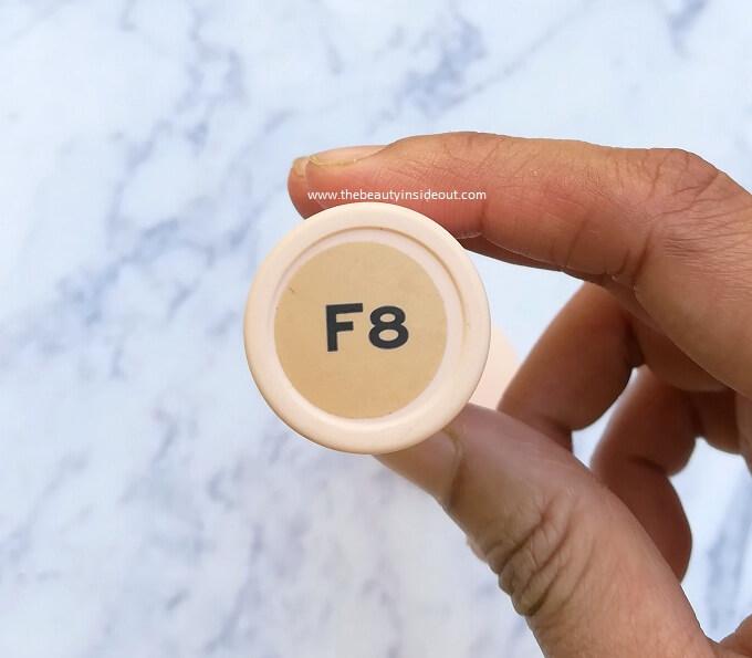 Makeup Revolution Fast Base Stick Foundation Shade Number