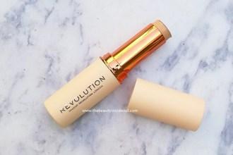 Makeup Revolution Fast Base Stick Foundation Review