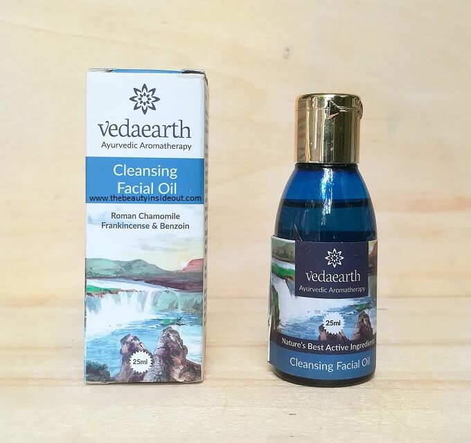 Vedaearth Cleansing Facial Oil
