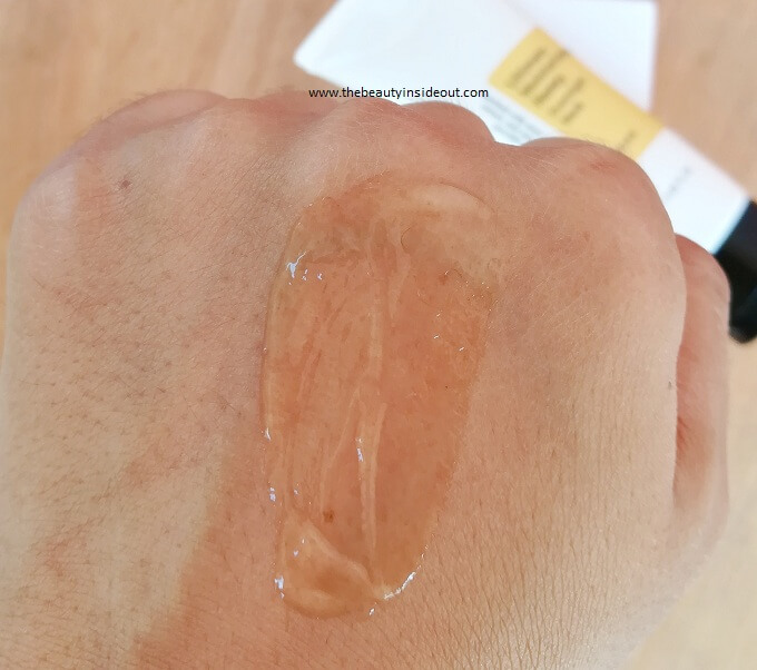 Cosrx Ultimate Moisturizing Honey Overnight Mask Consistency