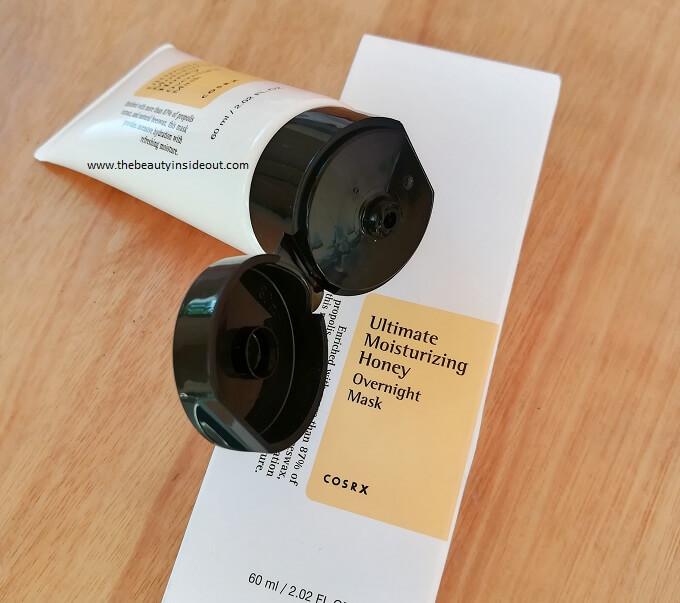 Cosrx Honey Mask Tube Packaging