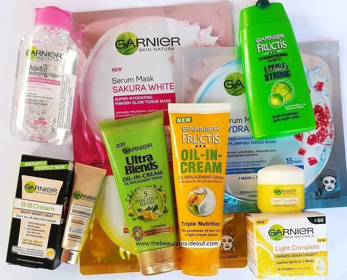Garnier Products Review