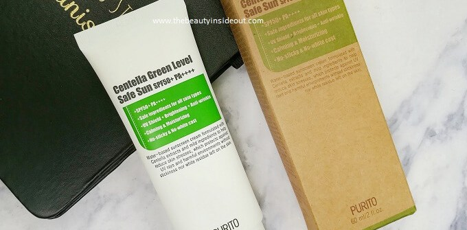 Purito Centella Green Level Safe Sun Review
