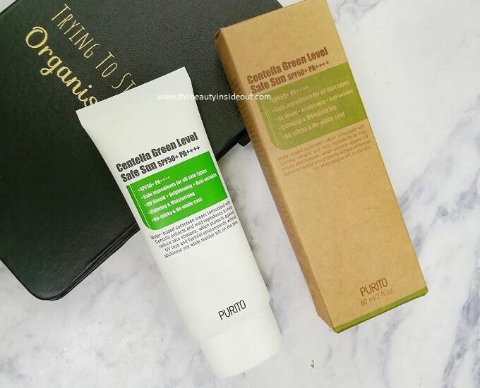 Purito Centella Green Level Safe Sun Review