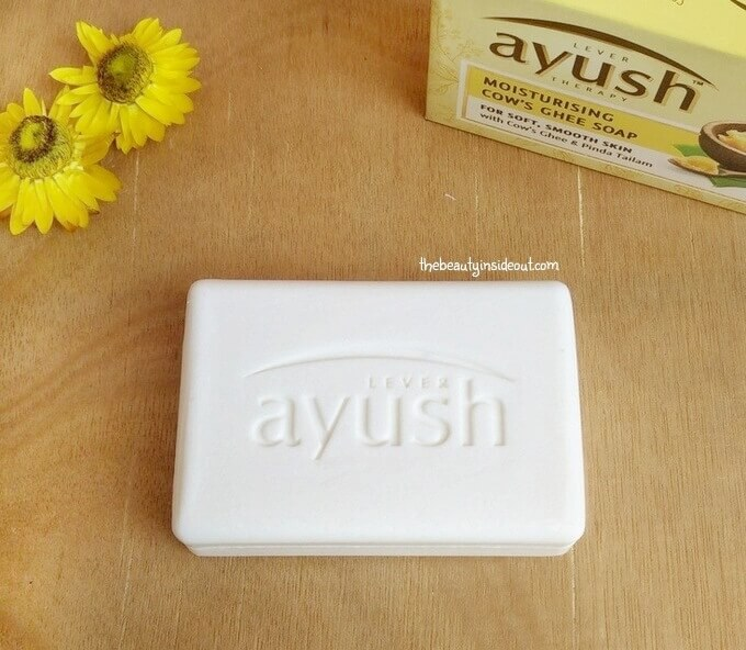 Lever Ayush Moisturizing Cow Ghee Soap