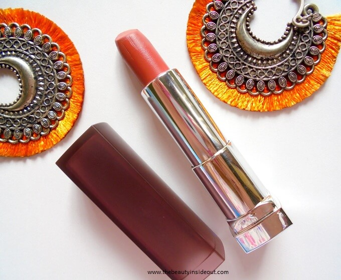 Maybelline Color Sensational Creamy Matte Lipstick Nude Nuance Review