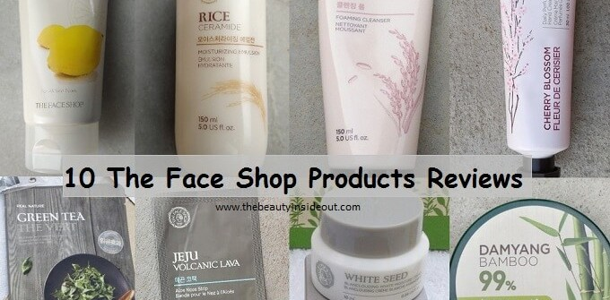 The Face Shop Review