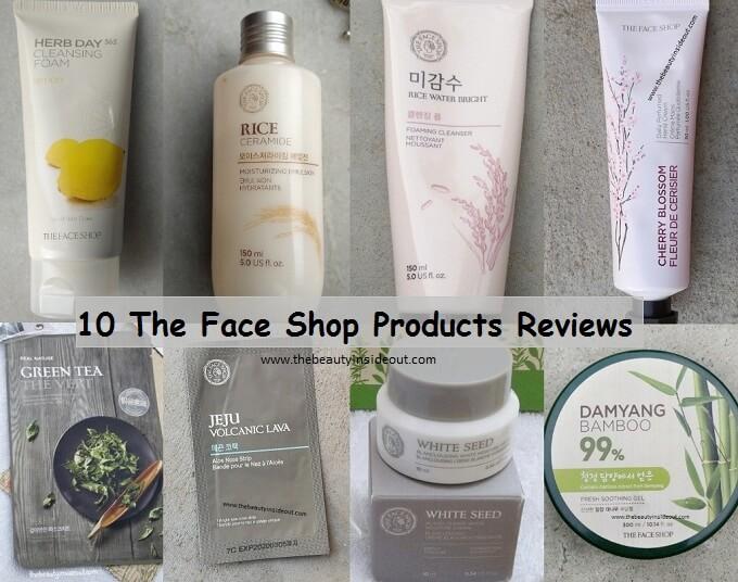The Face Shop Review