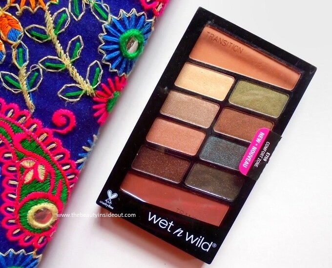 Wet n Wild Color Icon Eyeshadow Palette Comfort Zone Review
