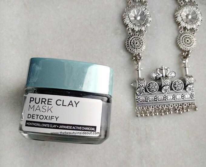Loreal Paris Pure Clay Mask Detoxify