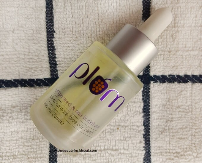 Plum Grape Seed And Sea Buckthorn Glow Restore Face Oils Blend Review