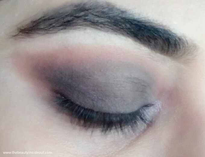 Swiss Beauty Ultimate Shadow Palette 04 Look 2