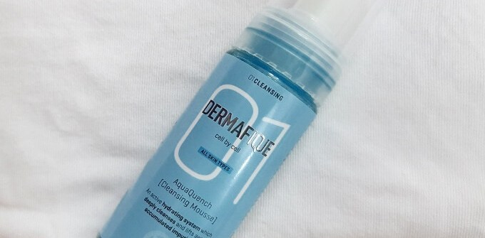 Dermafique Cleansing Mousse Review