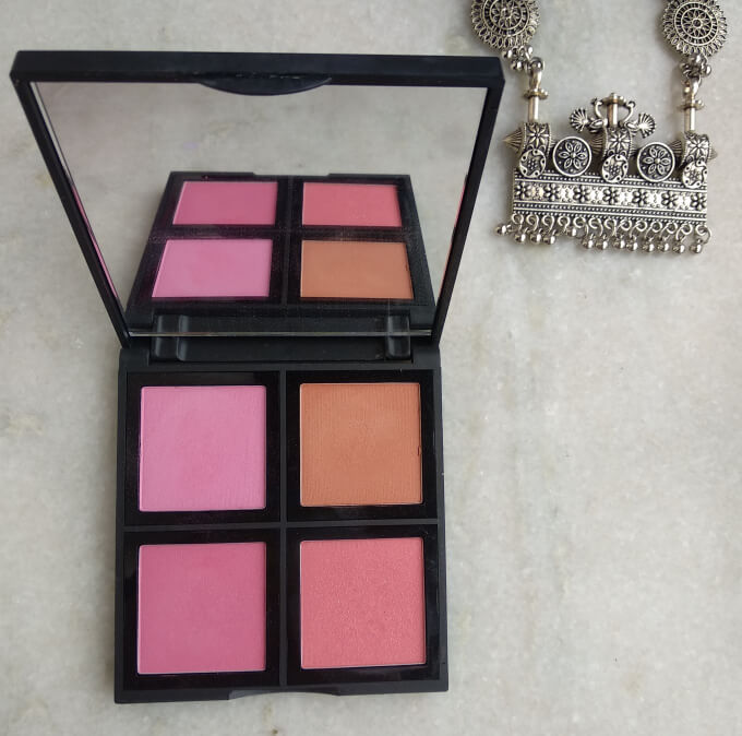Elf Powder Blush Palette Light Shades