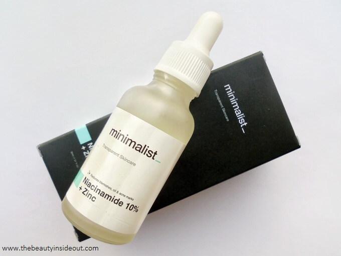 Minimalist Niacinamide 10 + Zinc Serum Review