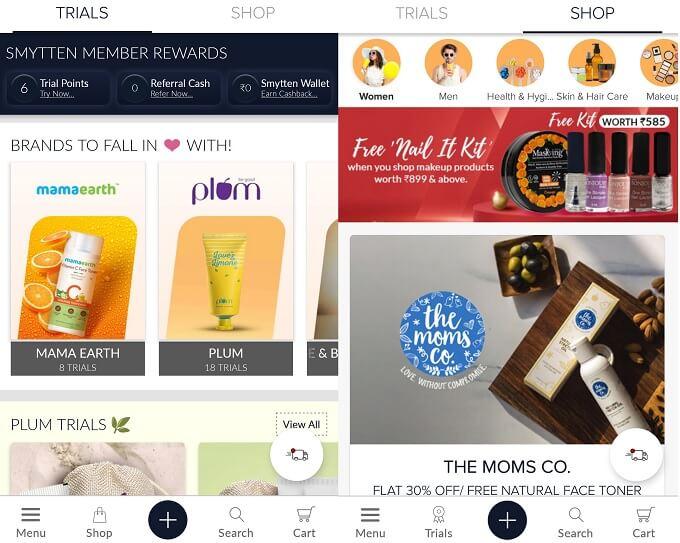Smytten App Review