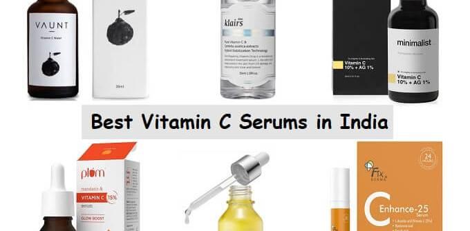 Best Vitamin C Serums In India