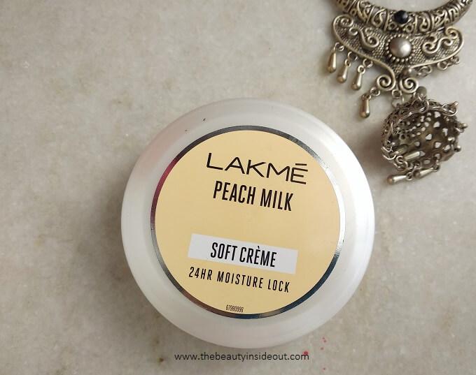Lakme Peach Milk Moisturizer Soft Creme