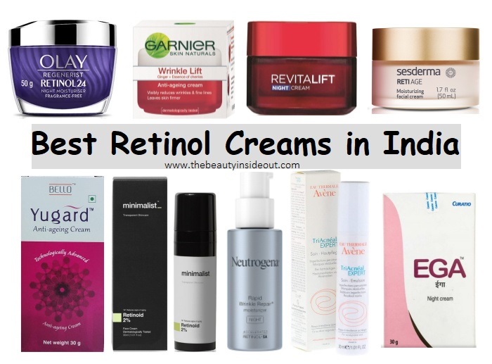 Best Retinol Creams in India