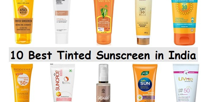 Tinted Sunscreen in India