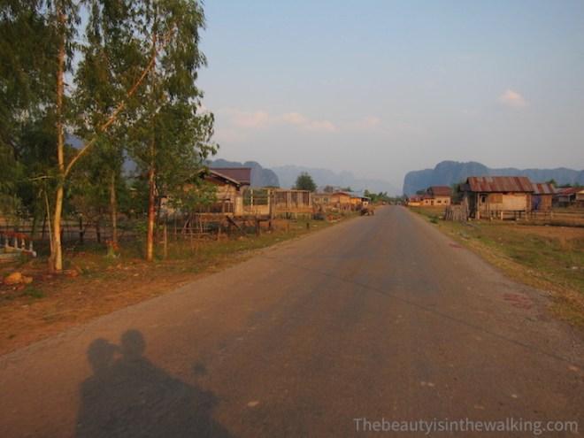 Sur la route de Kong Lor, Laos