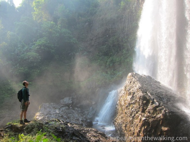 L'une des sept impressionnantes cascades de Tad Tadyicsua.
