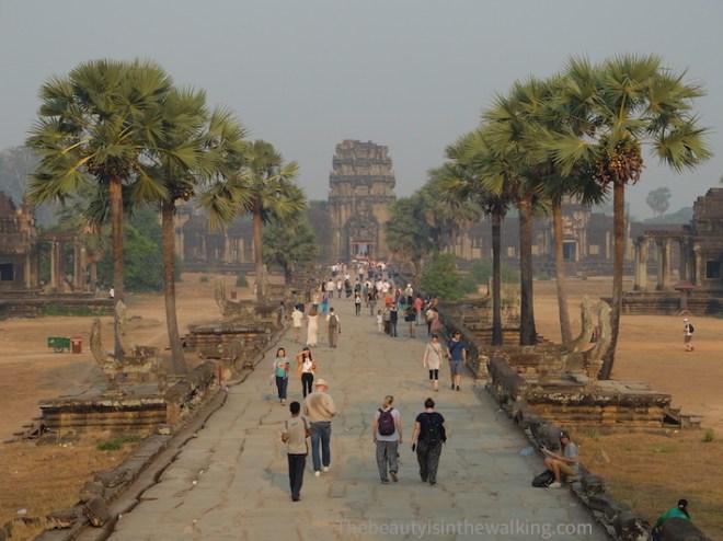 Le site d'Angkor attire chaque année plusieurs millions de visiteurs.
