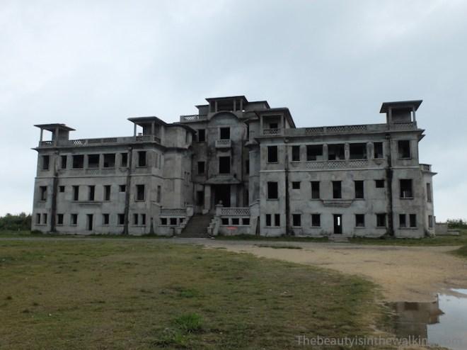 Bokor Palace, Station de Bokor, ancien Casino, ruines, Kampot, Cambodge, colonie française