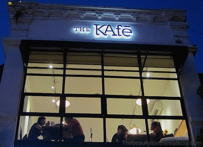 Devanture de The Kafe, Hanoi