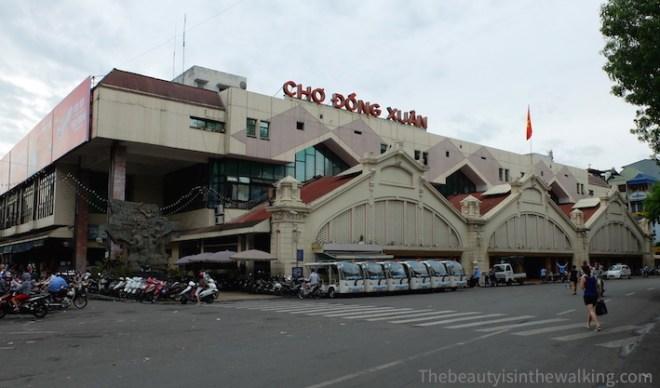 Chợ Đồng Xuân, le grand marché de Hanoï