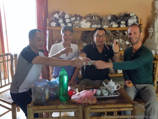 Avec notre ami Vietnamien