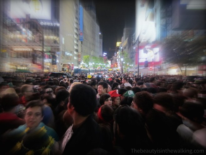 Shibuya Crossings