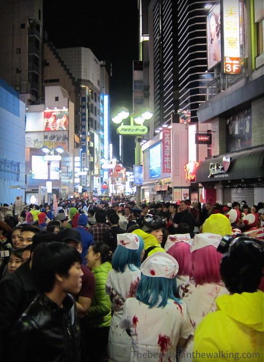 Dans les rues de Tokyo - Halloween 2015