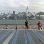 Selfie - avenue of stars in Hong Kong