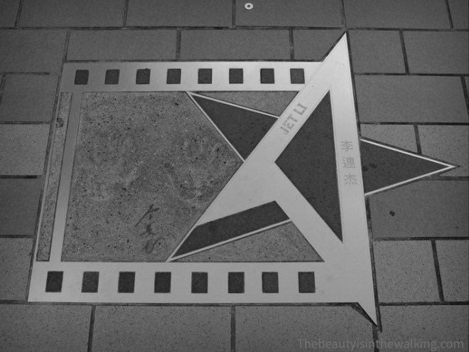 Avenue des stars - Jet Li