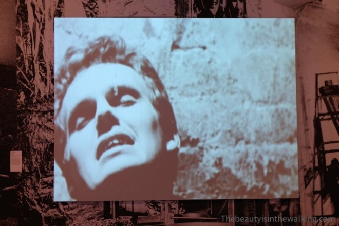 Blow job (video), Andy Warhol - NGV, Melbourne