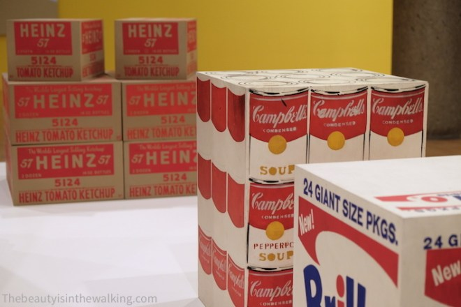 Campbell's Soup Box, Andy Warhol - NGV, Melbourne